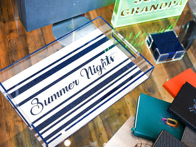Summer Nights Tray