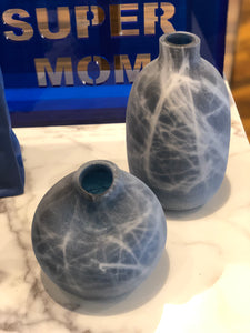 Hand Blown Vase Short