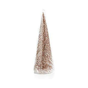 Glass Tree Gold Glitter