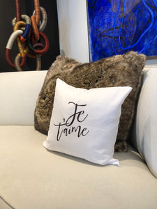Pillow Je T'aime