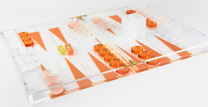 Acrylic Backgammon