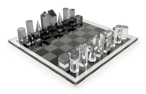 Acrylic Chess Set