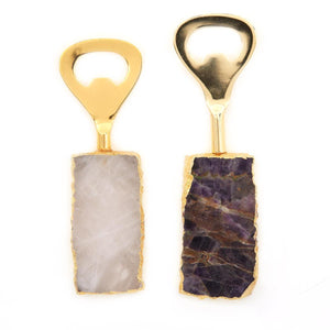 Ametista/Quartz Bottle Opener