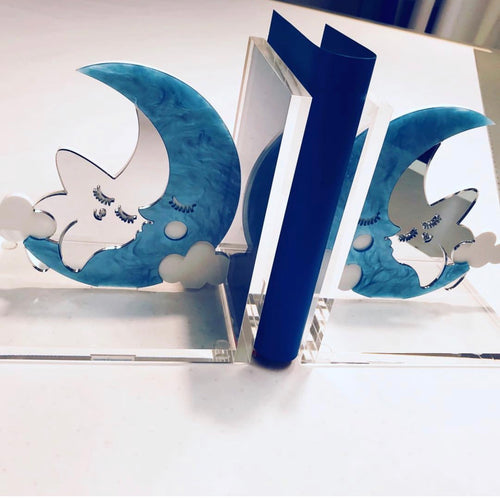Moon Bookends