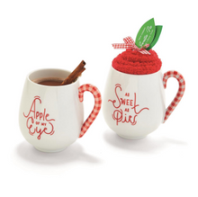 Load image into Gallery viewer, Mug and Candy Cane Socks Set