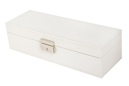 Faux Leather Safe Deposit Box