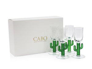 Cabo Cactus Shot Glass-S/4
