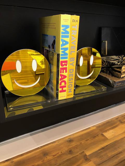 Smile Bookends
