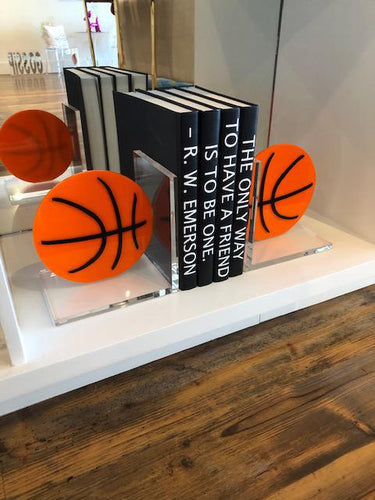 Basketball Bookends
