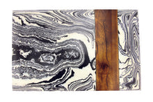 Load image into Gallery viewer, Zebra Marble & Wood Board
