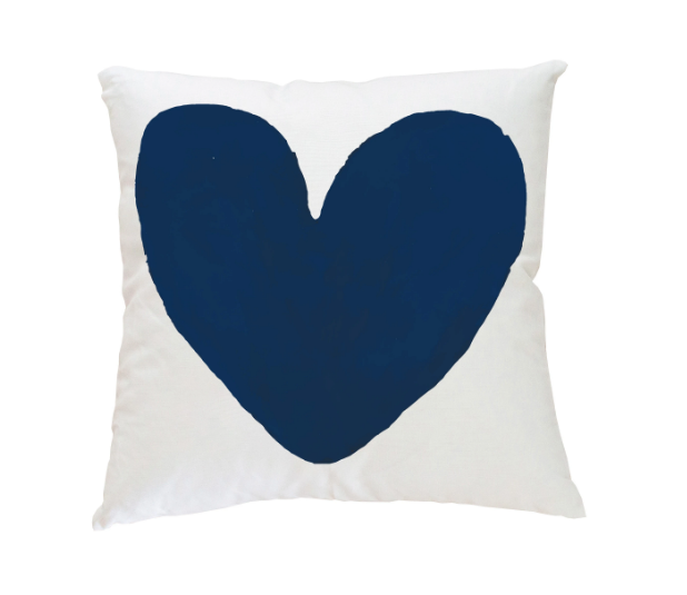 My Heart Pillow Kerri Rosenthal-22 x 22