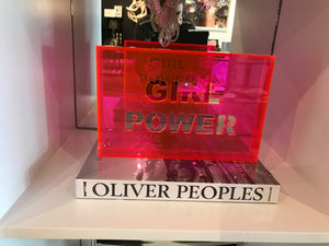 Acrylic Phrase Sign-Girl Power