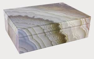 Mirror Marble Box Large