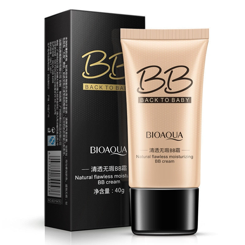 BIOAQUA Natural Flawless BB Cream Whitening Moisturizing Concealer