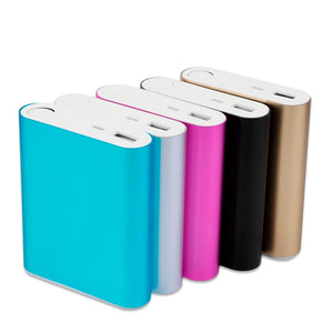Universal USB External Backup Battery Charger Powerbank For All Cell Phones