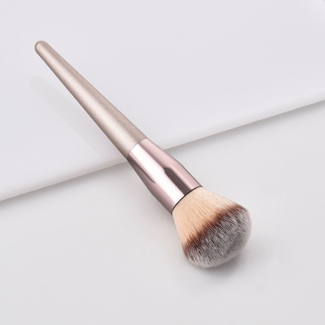 Luxury Champagne Makeup Brushes Set For Foundation Powder Blush Eye Shadow