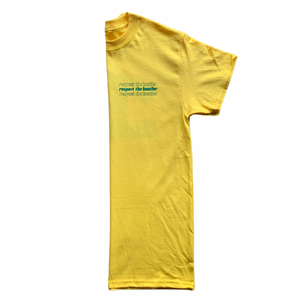 Respect The Hustler Lemon Tee
