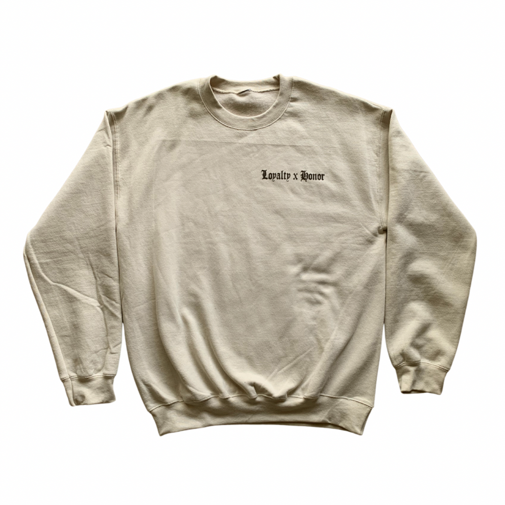 Loyalty x Honor Nude Sweater