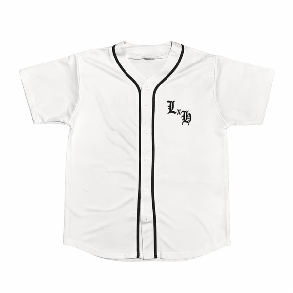 White Loyalty x Honor Jersey