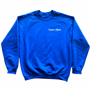 Loyalty x Honor True Blue Sweater