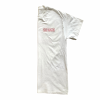 Respect The Hustler Reds White Tee