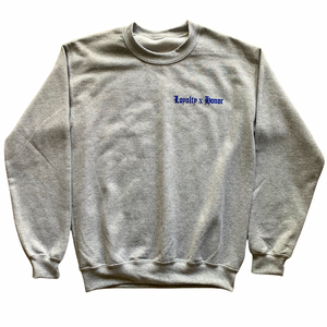 Loyalty x Honor Grey Sweater