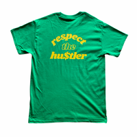 Respect The Hustler Lime Tee