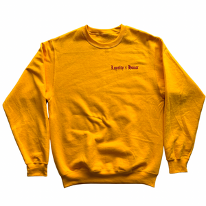Loyalty x Honor Golden Sunset Sweater