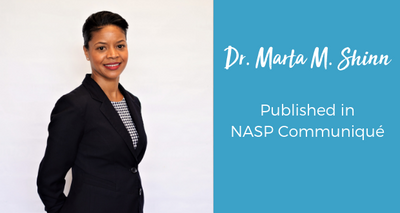 CGC Director of Training published in NASP Communiqué