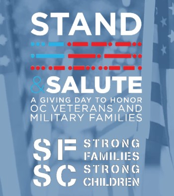 Stand and Salute May 20, 2020 in Orange County, California