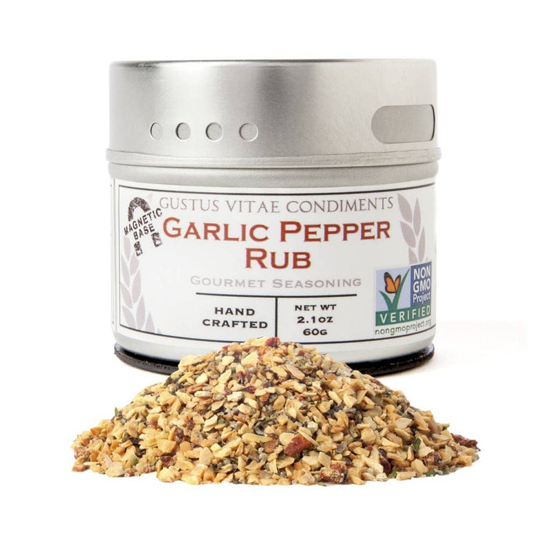 Garlic Pepper Rub Seasoning