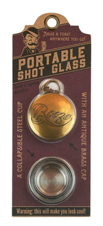 Portable Shot Glass - Booze