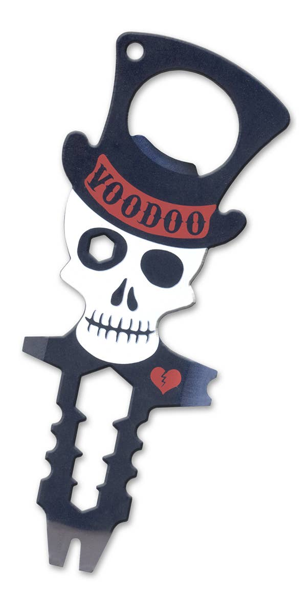 "Voodoo Multi-Tool (steel voodoo doll) ""9-in-1 tool"""