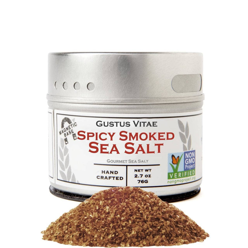Spicy Smoked Salt