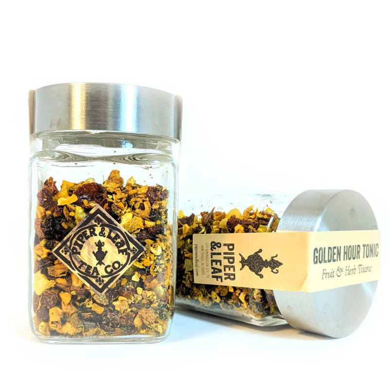 Piper & Leaf Artisan Tea Co - Golden Hour Tonic Loose Leaf - 30 Servings