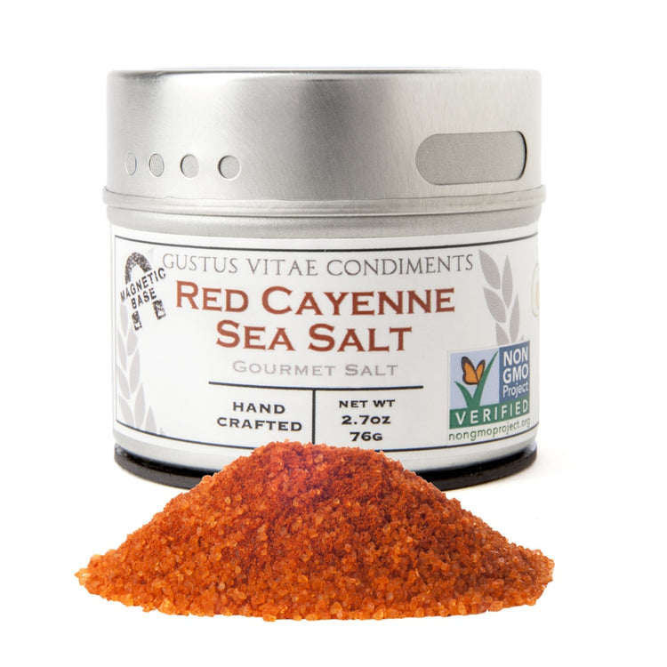 Red Cayenne Sea Salt