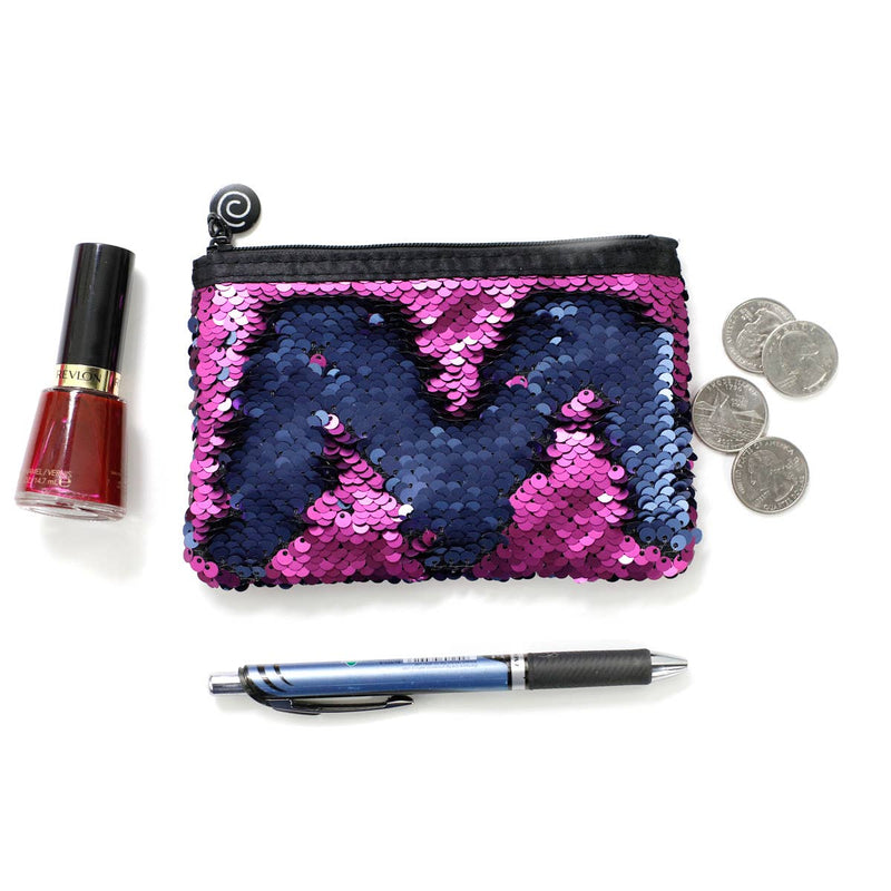 Sequin Mermaid Small Pouch