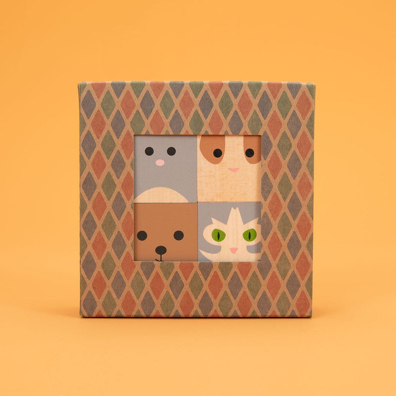 Hand Crafted Child's Blocks