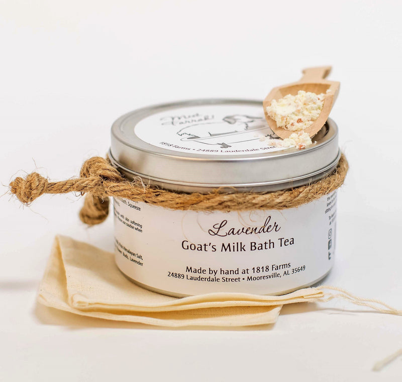 Lavender Goat's Milk Bath Tea - Tin