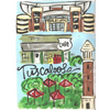 Tuscaloosa Game Day Directional or City Art