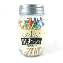 Mason Jar Farmhouse Matches