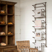 Metal Wall Display Rack