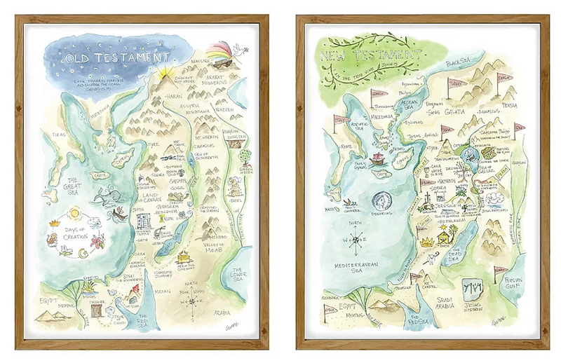 Imaginary Places Maps