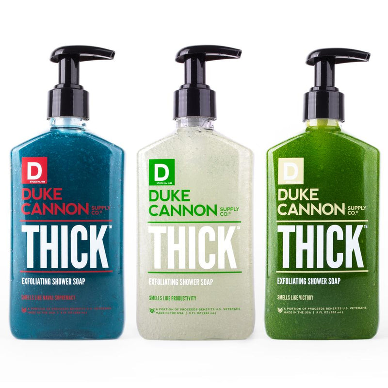 Triple Thick Exfoliating Liquid Soap