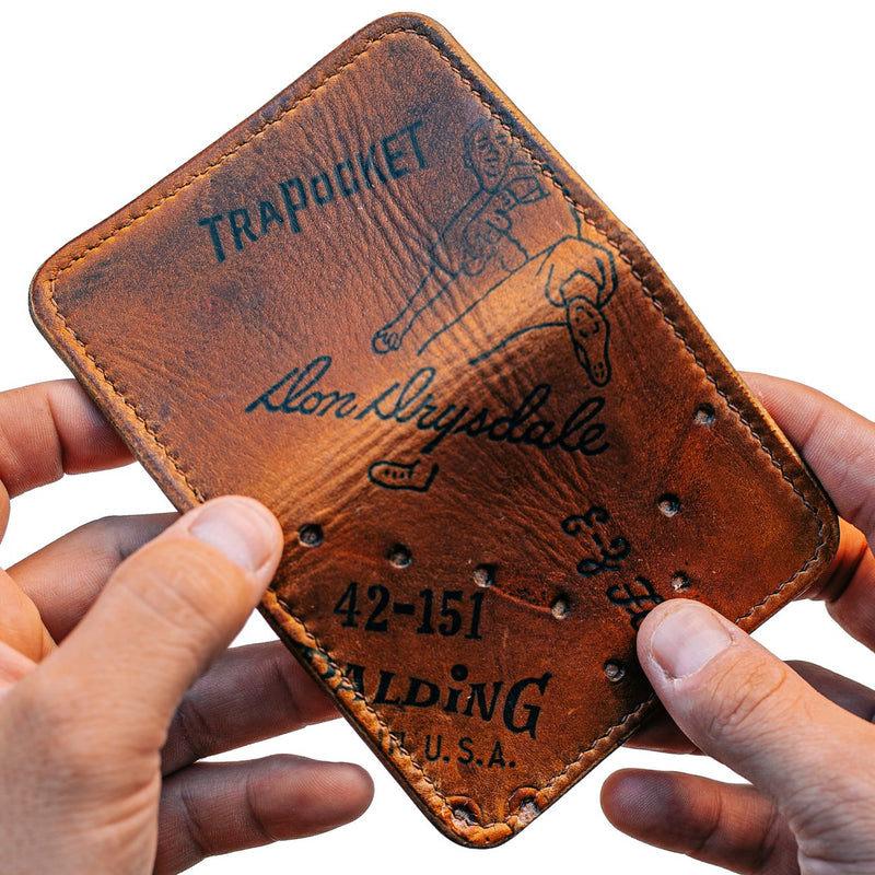 Baseball Glove Wallet