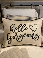 Corded Pillows