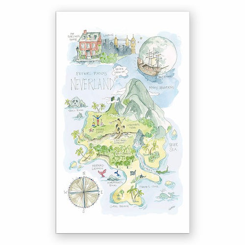 Imaginary Map Stickers
