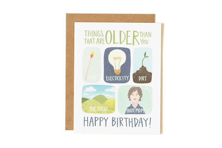 Older than you (birthday)