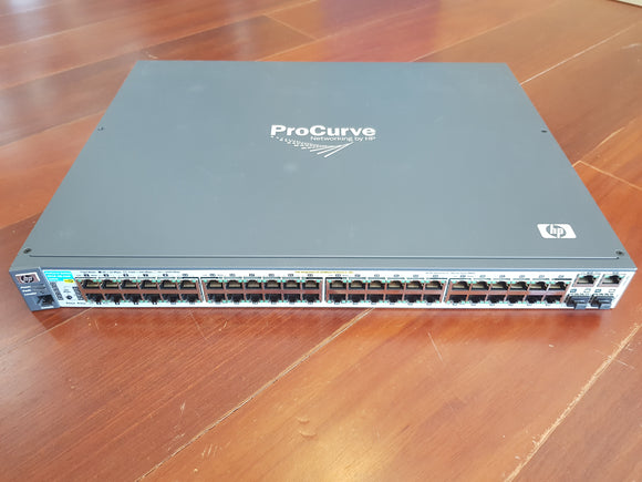 HP-J9089A HP ProCurve Switch รุ่น 2610‐48PWR, 48 port 10/100 POE