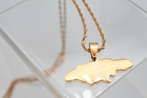18K gold plated Jamaica necklace